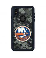 New York Islanders Camo iPhone X Waterproof Case