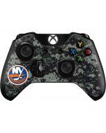 New York Islanders Camo Xbox One Controller Skin