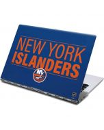 New York Islanders Lineup Yoga 910 2-in-1 14in Touch-Screen Skin