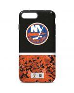 New York Islanders Retro Tropical Print iPhone 7 Plus Pro Case