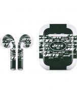 New York Jets Green Blast Apple AirPods 2 Skin