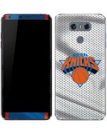 New York Knicks Away Jersey LG G6 Skin