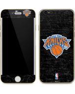 New York Knicks Black Secondary Logo iPhone 6/6s Skin