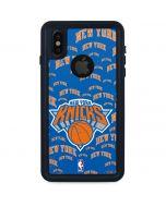 New York Knicks Blast iPhone XS Waterproof Case