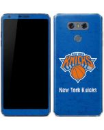 New York Knicks Blue Primary Logo LG G6 Skin