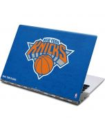 New York Knicks Blue Primary Logo Yoga 910 2-in-1 14in Touch-Screen Skin