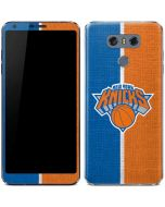 New York Knicks Canvas LG G6 Skin