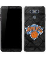 New York Knicks Dark Rust LG G6 Skin