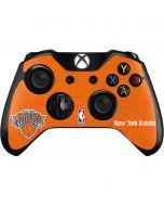 New York Knicks Orange Primary Logo Xbox One Controller Skin