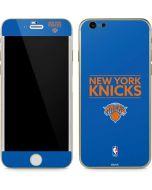 New York Knicks Standard - Blue iPhone 6/6s Skin