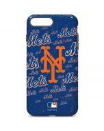 New York Mets - Cap Logo Blast iPhone 7 Plus Pro Case