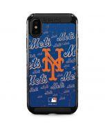 New York Mets - Cap Logo Blast iPhone XS Max Cargo Case