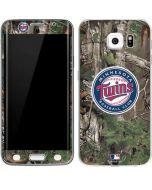 Minnesota Twins Realtree Xtra Green Camo Galaxy S6 Edge Skin