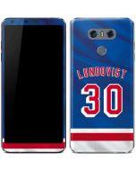 New York Rangers #30 Henrik Lundqvist LG G6 Skin