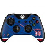 New York Rangers #30 Henrik Lundqvist Xbox One Controller Skin