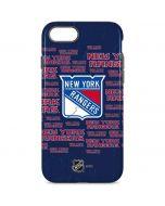 New York Rangers Blast iPhone 8 Pro Case