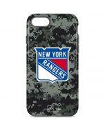New York Rangers Camo iPhone 8 Pro Case