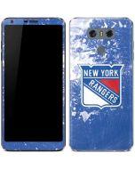New York Rangers Frozen LG G6 Skin