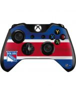 New York Rangers Jersey Xbox One Controller Skin