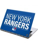 New York Rangers Lineup Yoga 910 2-in-1 14in Touch-Screen Skin