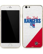 New York Rangers Script iPhone 6/6s Skin