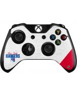 New York Rangers Script Xbox One Controller Skin