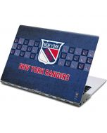 New York Rangers Vintage Yoga 910 2-in-1 14in Touch-Screen Skin