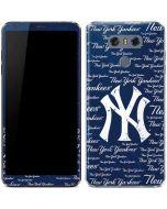 New York Yankees - Cap Logo Blast LG G6 Skin