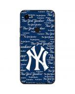 New York Yankees - Cap Logo Blast Google Pixel 3a Skin