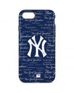 New York Yankees - Cap Logo Blast iPhone 8 Pro Case