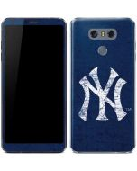New York Yankees - Solid Distressed LG G6 Skin