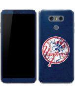 New York Yankees- Alternate Solid Distressed LG G6 Skin