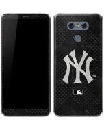 New York Yankees Dark Wash LG G6 Skin
