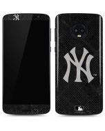 New York Yankees Dark Wash Moto G6 Skin