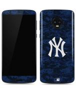 New York Yankees Digi Camo Moto G6 Skin