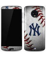 New York Yankees Game Ball Moto G6 Skin