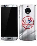 New York Yankees Home Jersey Moto G6 Skin