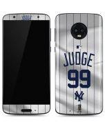 New York Yankees Judge #99 Moto G6 Skin