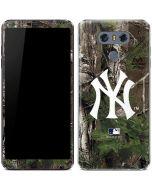 New York Yankees Realtree Xtra Green Camo LG G6 Skin