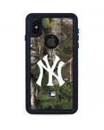 New York Yankees Realtree Xtra Green Camo iPhone X Waterproof Case