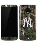 New York Yankees Realtree Xtra Green Camo Moto G6 Skin