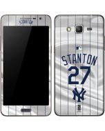 New York Yankees Stanton #27 Galaxy Grand Prime Skin