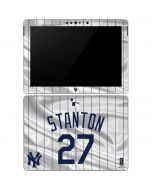 New York Yankees Stanton #27 Surface Go Skin