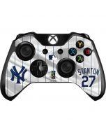 New York Yankees Stanton #27 Xbox One Controller Skin