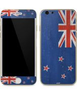 New Zealand Flag Distressed iPhone 6/6s Skin