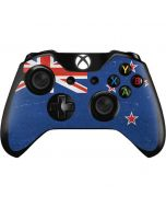 New Zealand Flag Distressed Xbox One Controller Skin