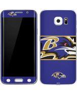 Baltimore Ravens Zone Block Galaxy S6 Edge Skin