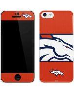 Denver Broncos Zone Block iPhone 5c Skin
