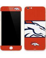 Denver Broncos Zone Block iPhone 6/6s Plus Skin