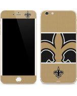 New Orleans Saints Zone Block iPhone 6/6s Plus Skin